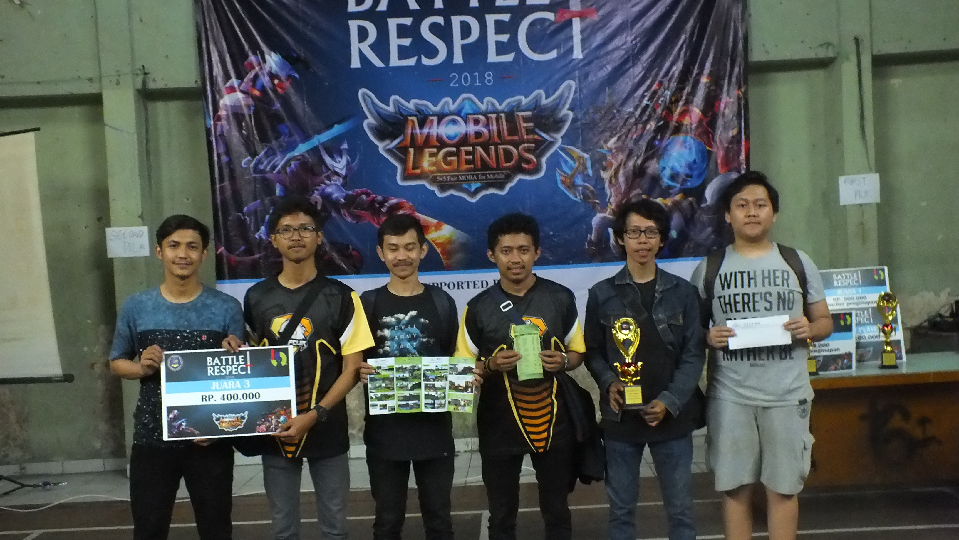 Tournament Mobile Legends Battle Respect 2018