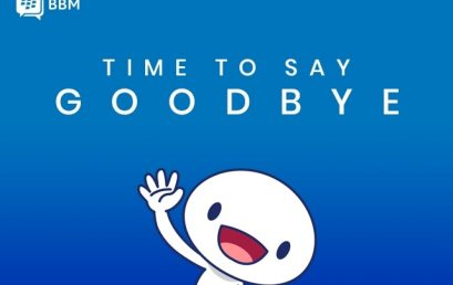 31 Mei 2019, Time to Say GOOD BYE to Blackberry Messenger